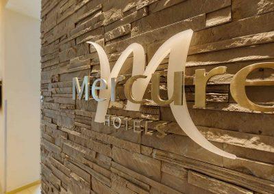 Mercure Hotel Stuttgart Sindelfingen an der Messe Closeup Wandlogo