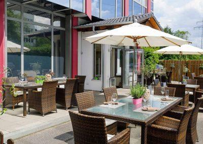 Mercure Hotel Stuttgart Sindelfingen an der Messe Terrasse
